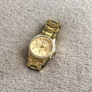 GUESS Watch, Gold - NO Extra Links or Battery